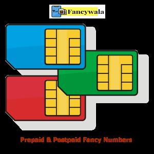 Prepaid & Postpaid Fancy Numbers
